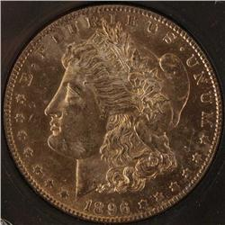 1896-S morgan Silver Dollar