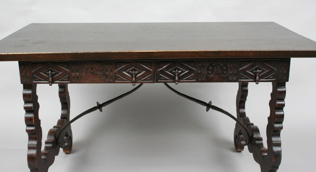 Image 1 Spanish Colonial Style Desk