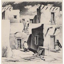 Coy A. Seward, Lithograph