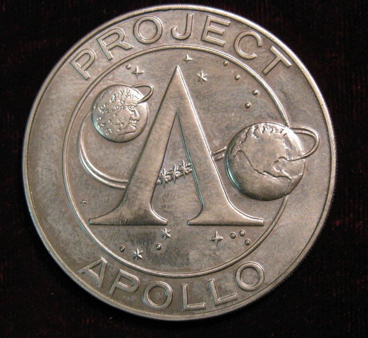 Apollo Project Apollo Coins Seven (page 2) - Pics about space