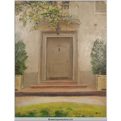 Hollywood Celebrities' Doorways Series {Irene Dunn} by Eulabee Dix