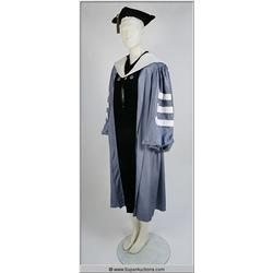 Columbia University Cap, Gown and Sash {Alfred Hitchcock}