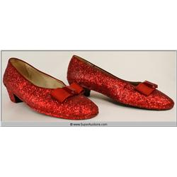 Ruby Red Slippers {Judy Garland}