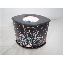 Elvis Magical Carousel Lamp Multicolor Moving shade 10x 18 in