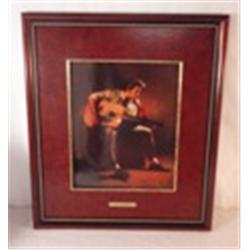 Love me Tender porcelain plaque by Ken Laager - Franklin Mint
