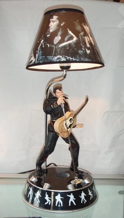 Musical Dancing Stage Lights Elvis Lamp- Plays Hound dog