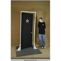 Free Standing Hollywood Movie Star Doorway on Base