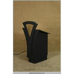 Hand Built Art Deco Styled Music Stand with Reading Light