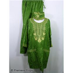 Bruno (Sacha Baron Cohen) Green Gown Movie Costumes