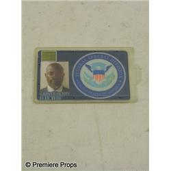 Push Henry Carver (Djimon Hounsou) Security Badge Movie Props