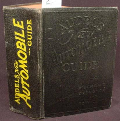 1954 audels new automobile guide hardcover book rh icollector com Audel Watches Audels Welders Guide