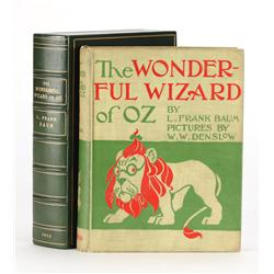 The Wonderful Wizard of Oz, First Edition, first state of the text and first state of the plates, Fi