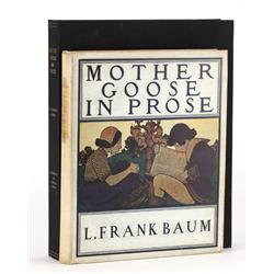 Mother Goose in Prose, Baum's first published book for children and the first book appearance of Dor