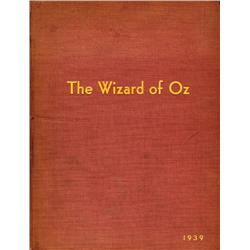 The Wizard of Oz, presentation copy of the motion picture songs sheet music signed by Harold Arlen a
