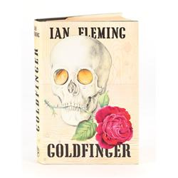 Goldfinger, First Edition inscribed by Ian Fleming to William Plomer, the book's dedicatee