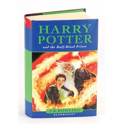 Harry Potter and the Half-Blood Prince, First Edition inscribed by the entire film's cast!