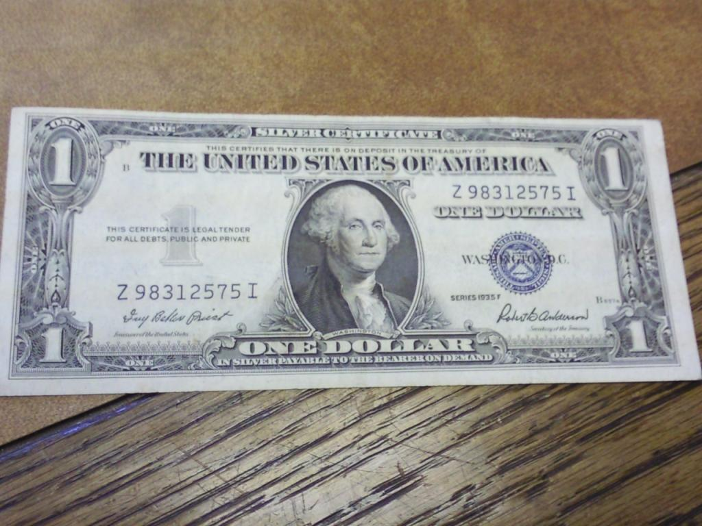1935 f one dollar silver certificate crisp 1935 f one dollar silver certificate crisp loading zoom xflitez Choice Image
