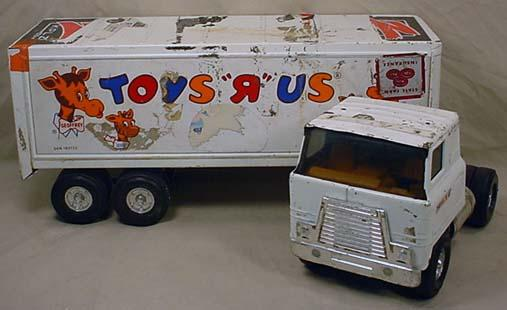 Toys Are Us Trucks : Ertl toys r us semi truck and trailer