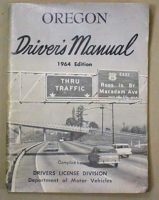 1964 oregon driver s manual rh icollector com oregon driver's manual audio drivers manual 2016 oregon