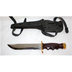 AMF Swimaster Knife & Sheath