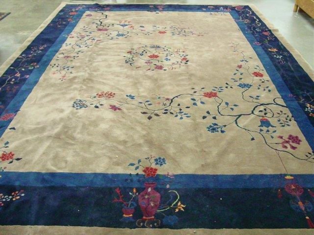 Image 1 Chinese Art Deco Rug Ca 1920 S Excellent Condition Rox