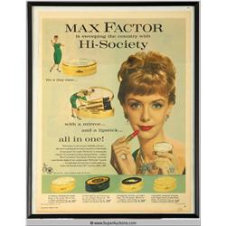 Hi-Society Make-Up Advertisement 1959 {Max Factor Collection}