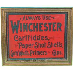 Always Use Winchester Cartridges Blotter In Frame -
