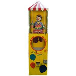 "25 Cent Floor Model ""Ziggi The Clown"" Toy Vending Machi"
