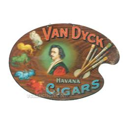 Van Dyck Havana Cigars Tin Sign,