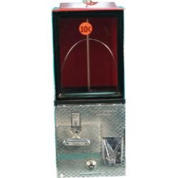 10 Cent Countertop Victor Vending Machine w/ keys