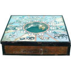 Kentucky Derby Countertop Spin Dice Horserace Game c194