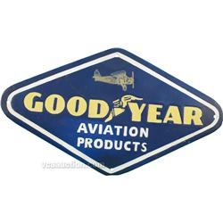 Good Year Aviation Products Porcelain Sign,