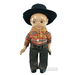 "Plastic ""Buddy-Lee"" Cowboy Doll"