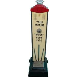 1 Cent Floor Model Fortune Telling Scale by American Sc