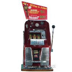 5 Cent Mills Hi-Top  New Pioneer Club  Slot Machine w/