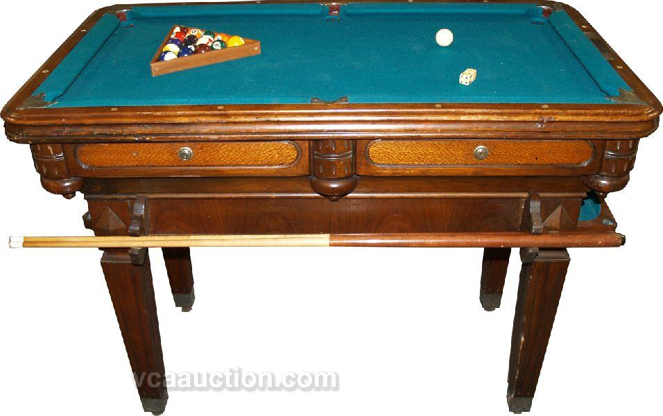 Coin-Op Billiardette Table Small Pool Table,. Loading zoom