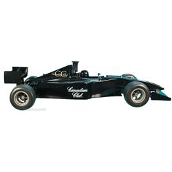 Canadian Club Liquor Indy Race Car Replica w/ Driver.