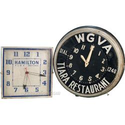Lot Of 2 Clocks: