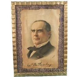 "McKinley ""Morning Picture"" Litho. Sign,"