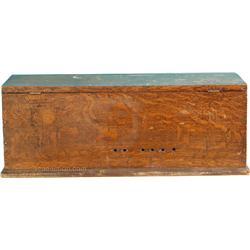 Early Antique Wooden Tool Box