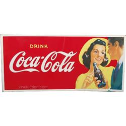 Drink Coca Cola Tin Sign,