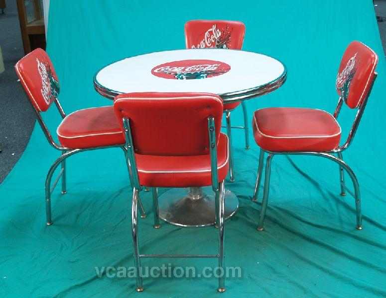 Antique Coca Cola Table And Chairs Best 2000 Antique & Coca Cola Table And Chairs Set - Castrophotos