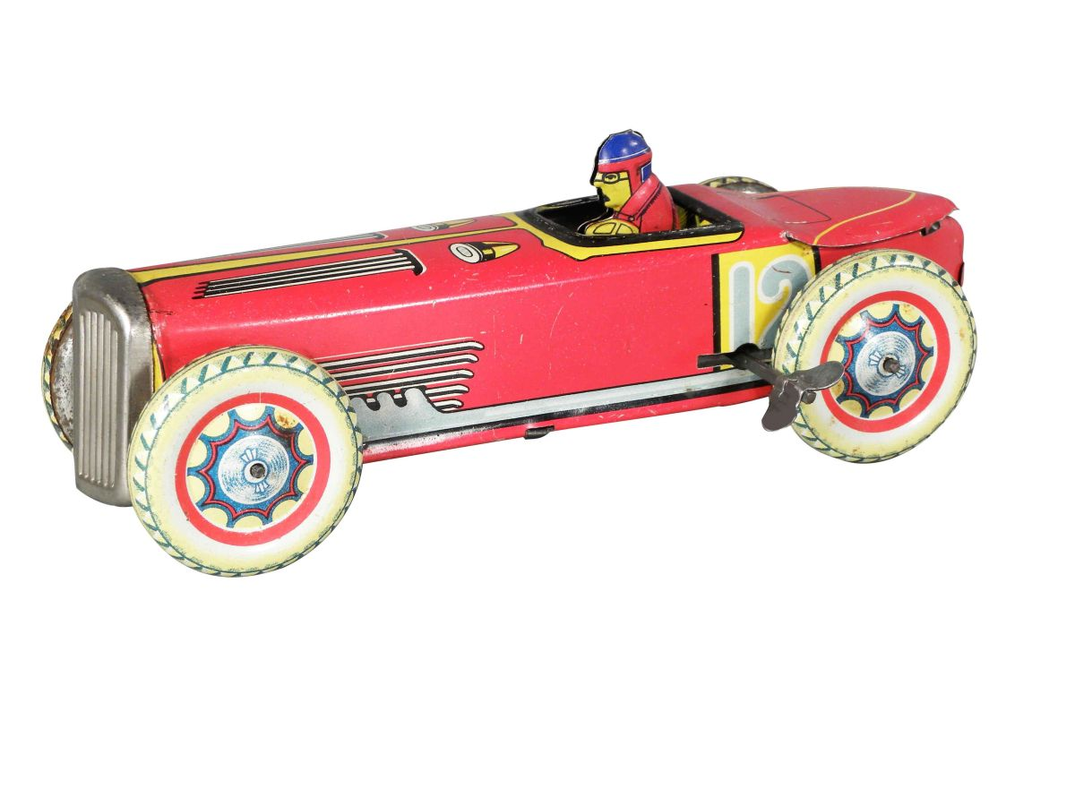 Toy Race Car Tin wind up toy race car
