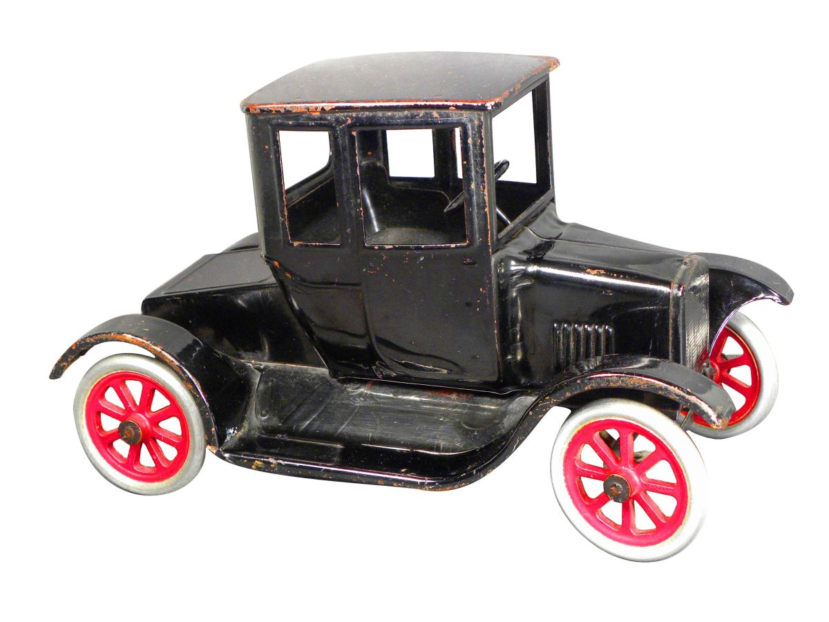 Online Car Auction >> Buddy L (Flivver) Model T Pressed Steel Toy Car