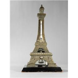 Eiffel Tower Thermometer/Inkwell.