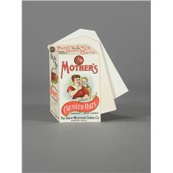 Mother's Oats Celluloid Note Book