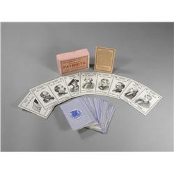 The Game of American Patriots card deck