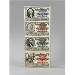 4 World's Columbian Exposition Passes