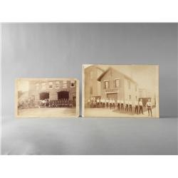Lot of two early Fireman photo's