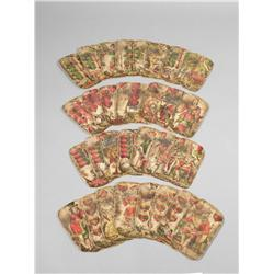 Early Deck of German Playing Cards